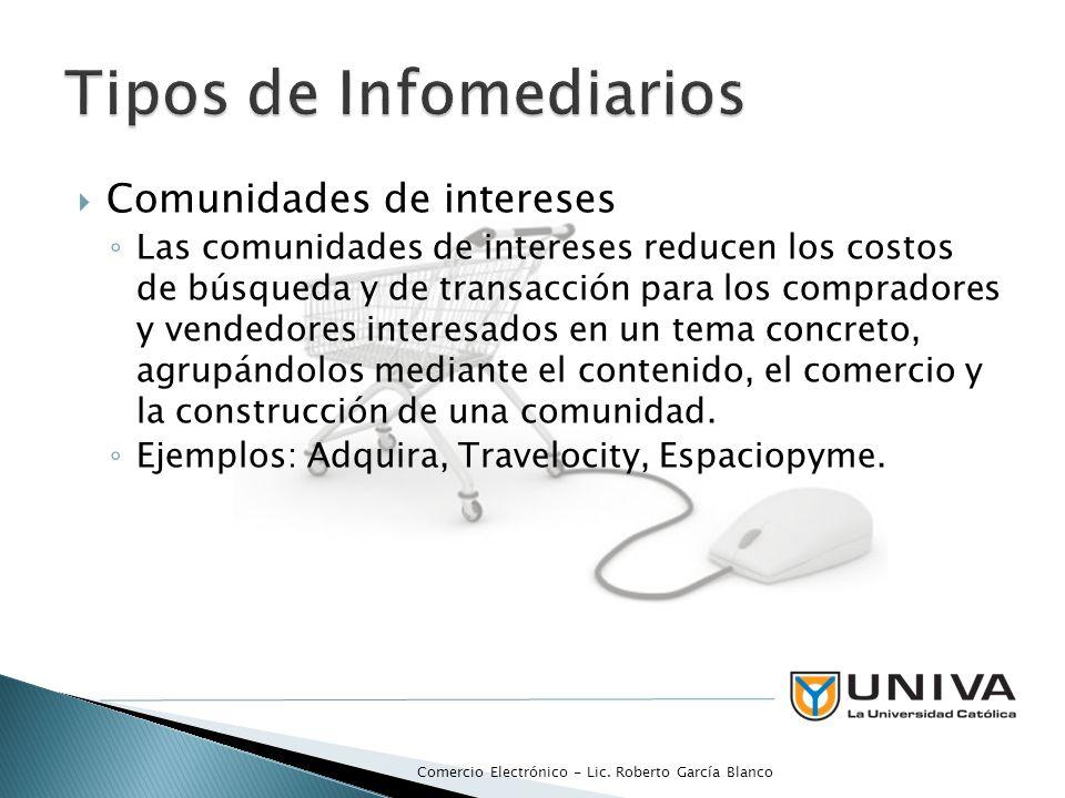 Tipos de Infomediarios