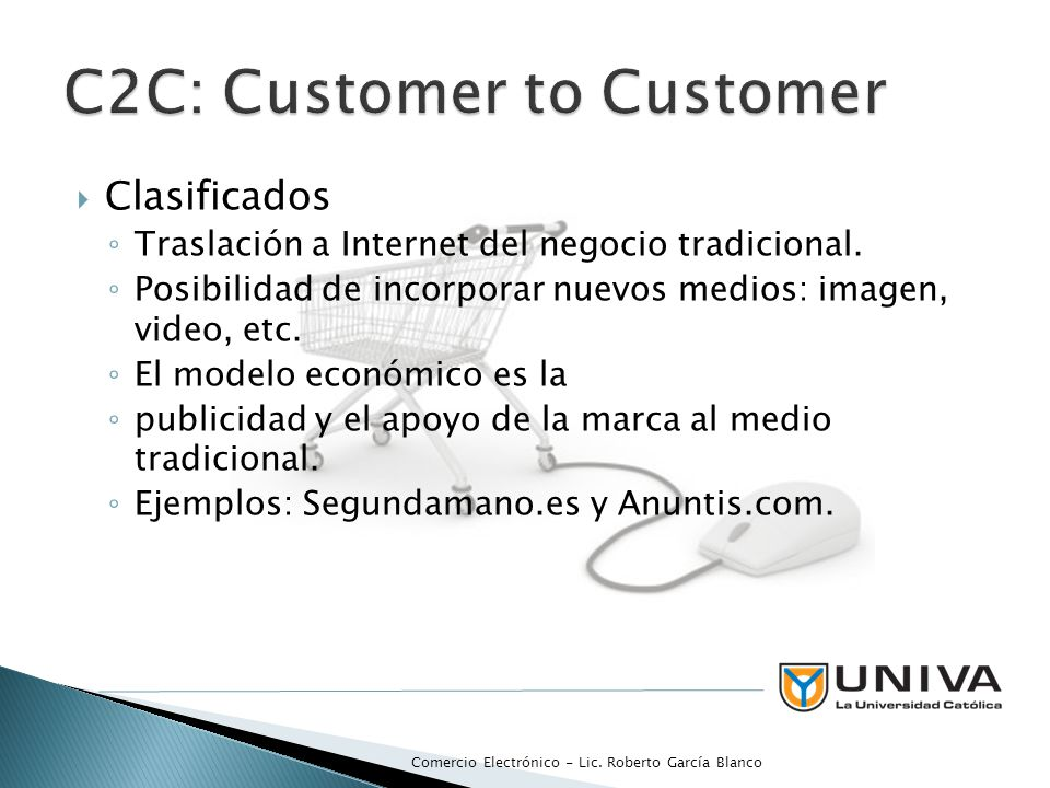 C2C: Customer to Customer