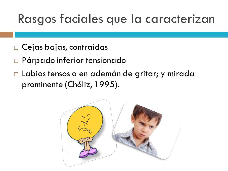 Rasgos faciales que la caracterizan
