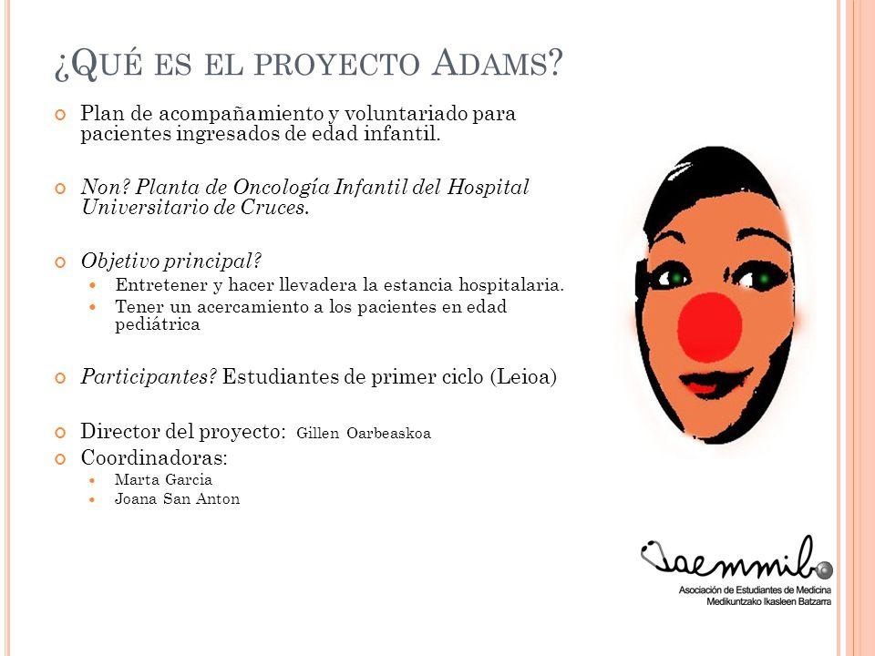 ¿Qué es el proyecto Adams