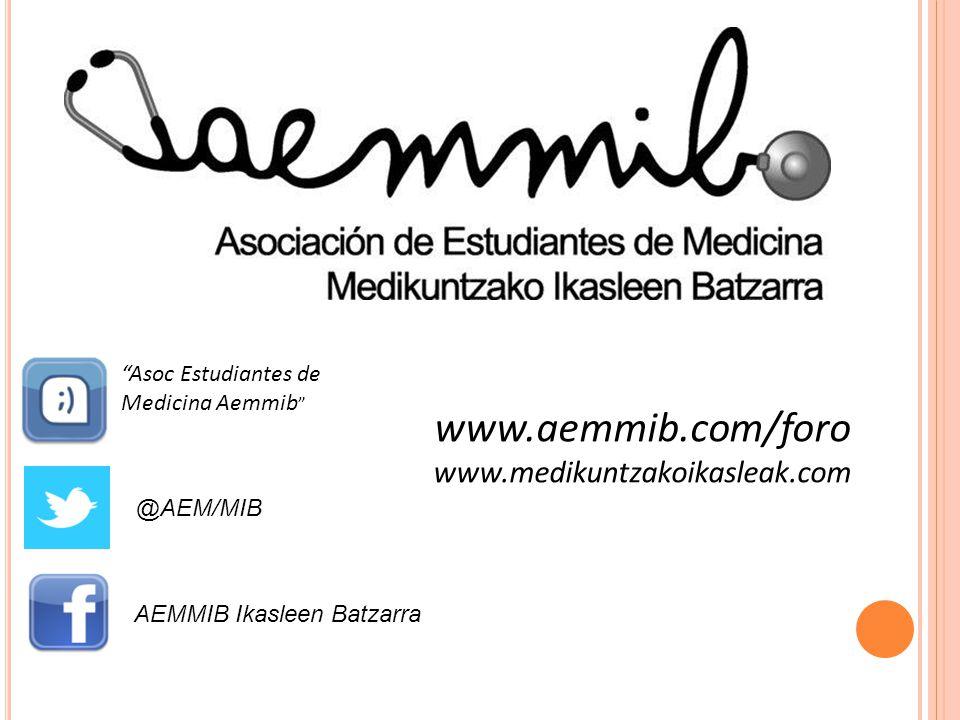 www.aemmib.com/foro www.medikuntzakoikasleak.com