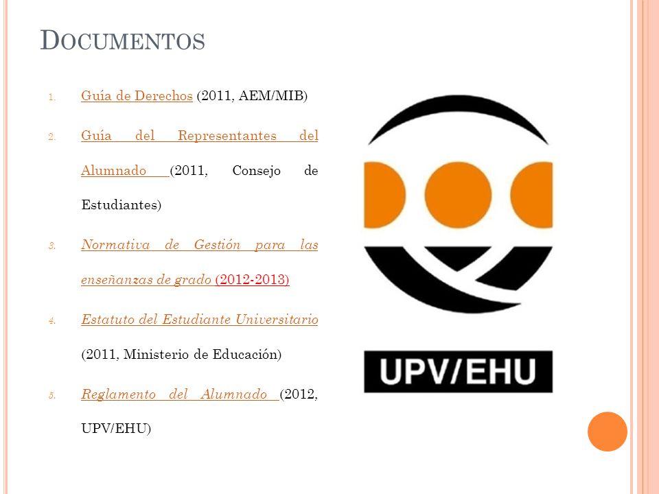 Documentos Guía de Derechos (2011, AEM/MIB)