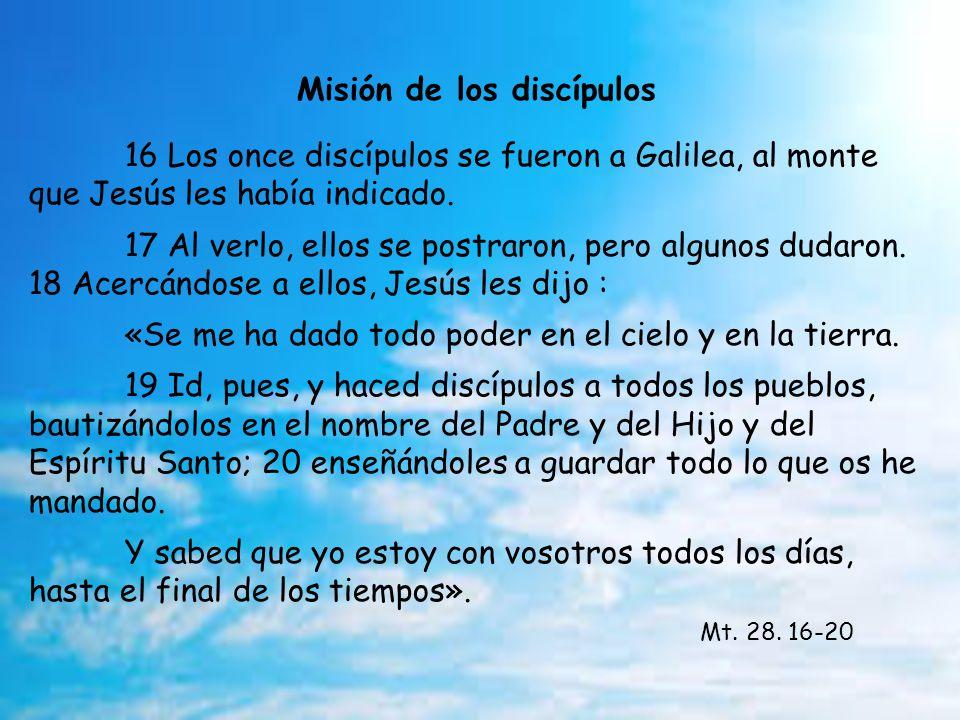 Misión de los discípulos