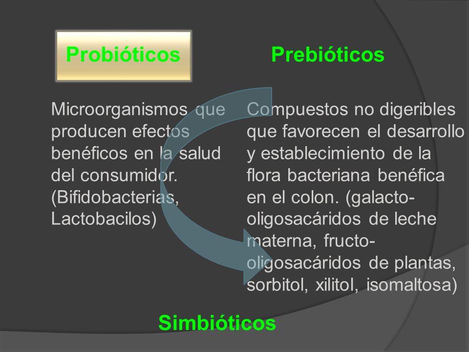 Probióticos Prebióticos Simbióticos
