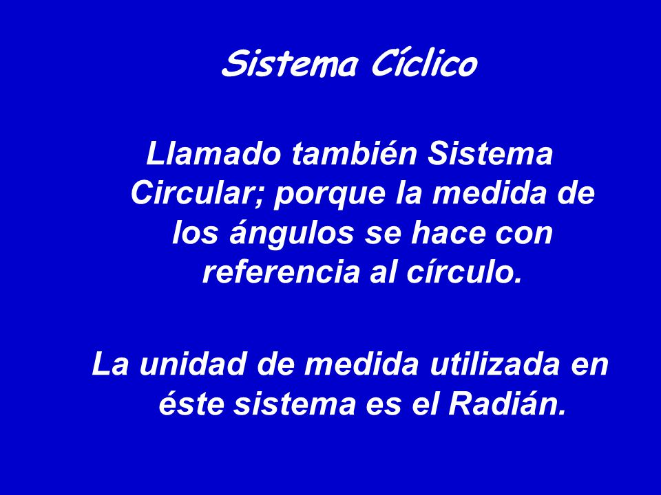 Sistema Cíclico