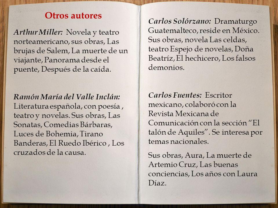 Otros autores