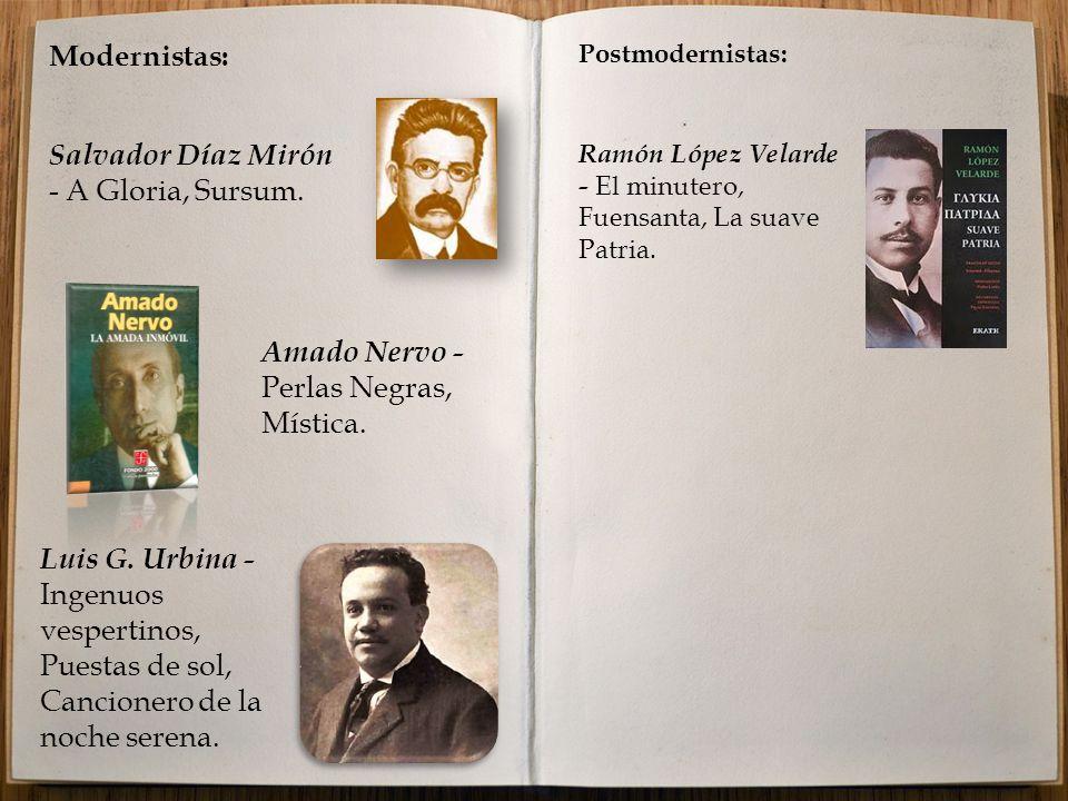 Salvador Díaz Mirón - A Gloria, Sursum.