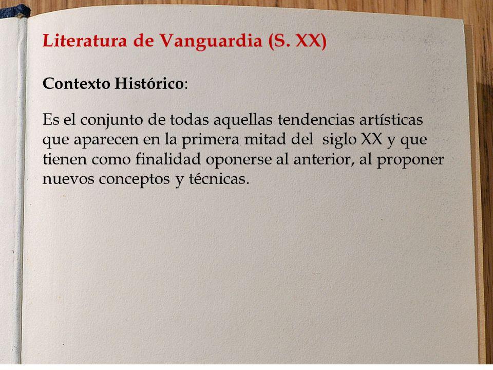 Literatura de Vanguardia (S. XX)