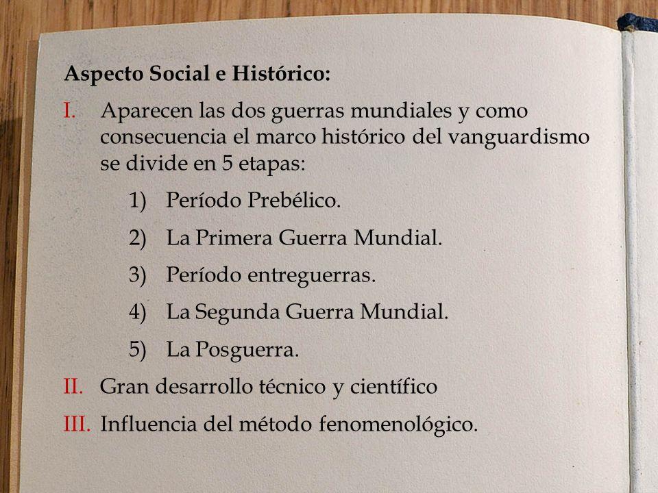 Aspecto Social e Histórico: