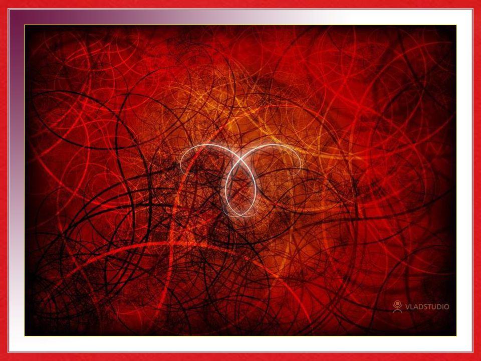 …que en un abrazo fatal levantaron espumeantes oleadas de rojo festón.