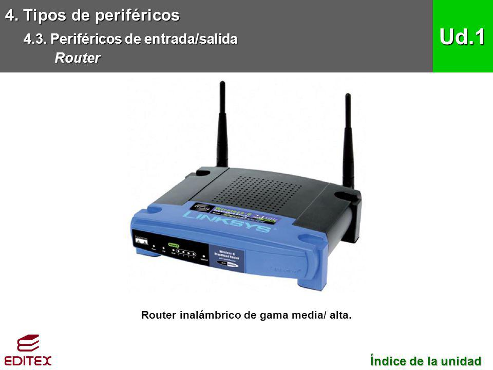Router inalámbrico de gama media/ alta.