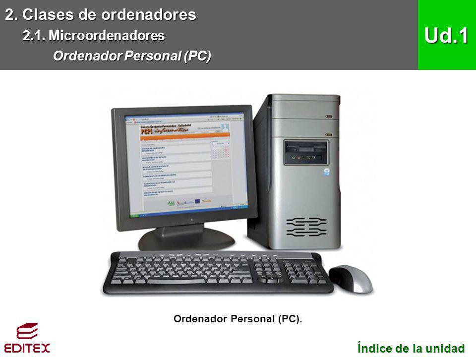 Ordenador Personal (PC).
