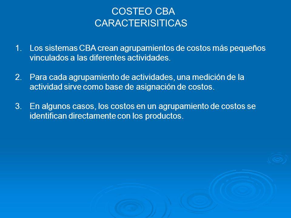 COSTEO CBA CARACTERISITICAS