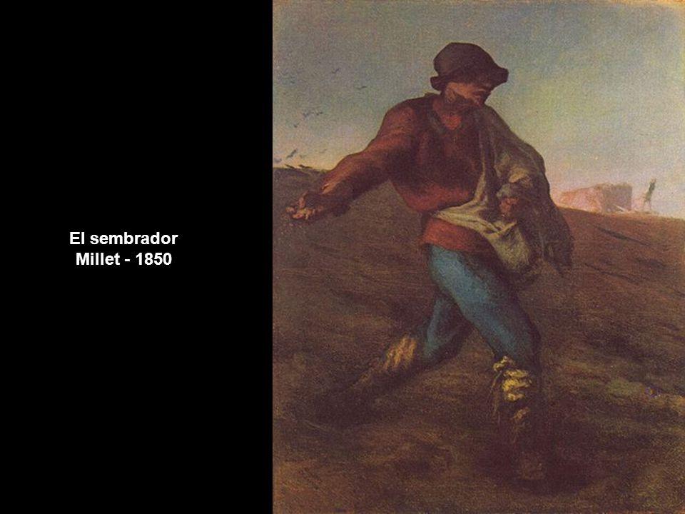 El sembrador Millet - 1850 www.vitanoblepowerpoints.net