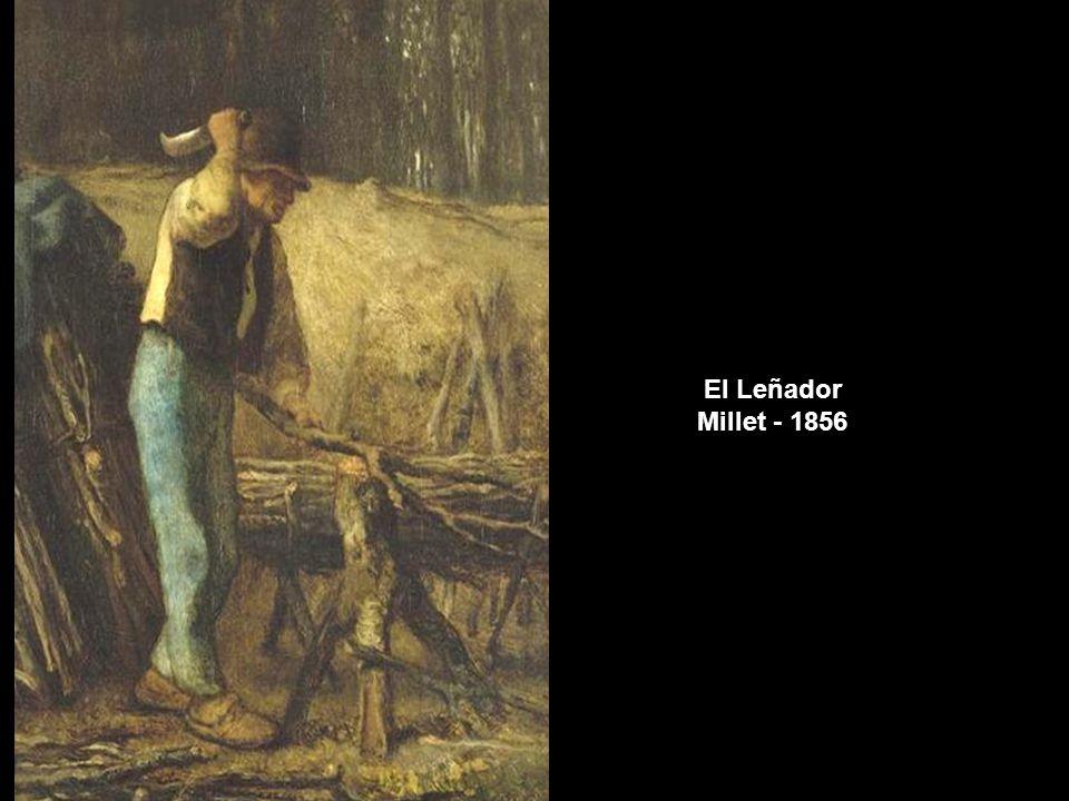 El Leñador Millet - 1856 www.vitanoblepowerpoints.net