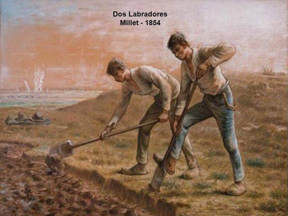 Dos Labradores Millet - 1854