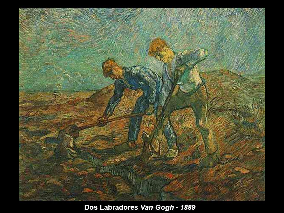 Dos Labradores Van Gogh - 1889