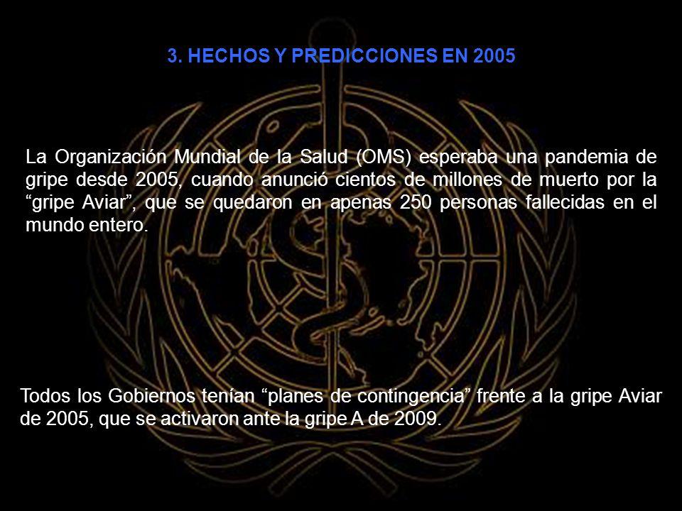 3. HECHOS Y PREDICCIONES EN 2005