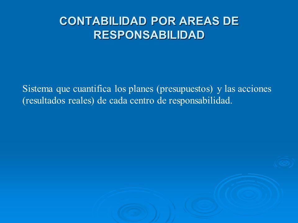 CONTABILIDAD POR AREAS DE RESPONSABILIDAD