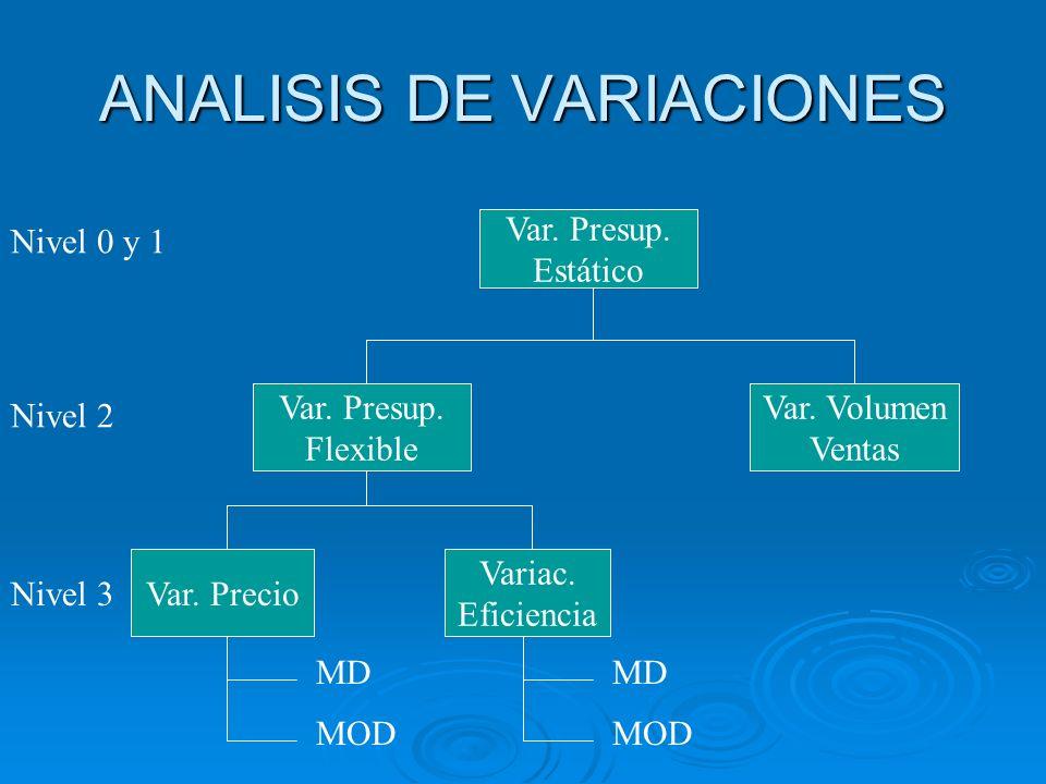 ANALISIS DE VARIACIONES
