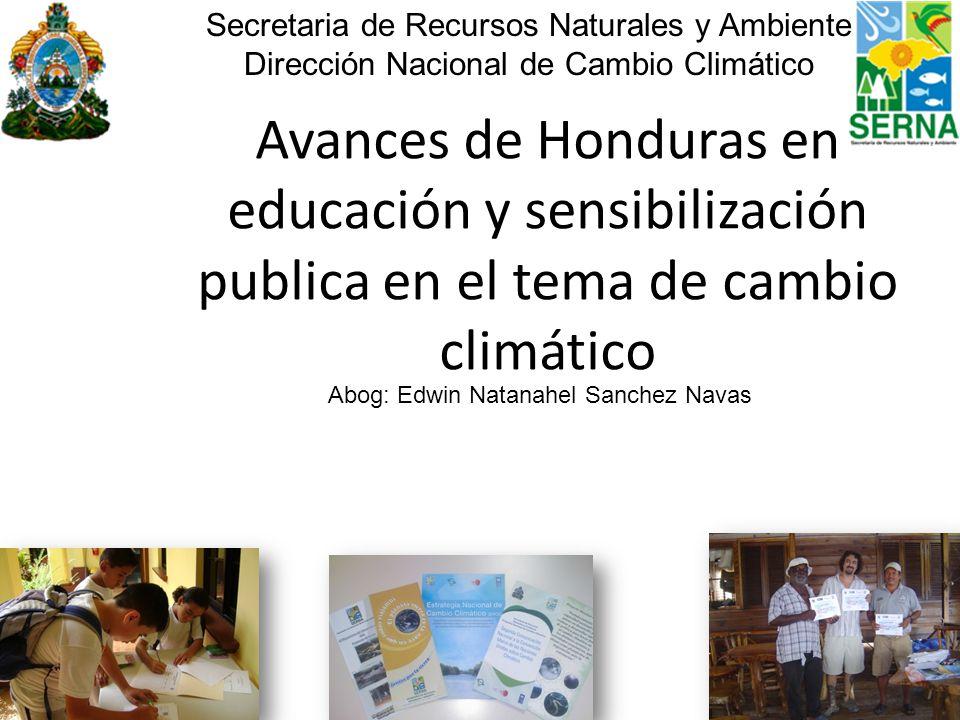 Secretaria de Recursos Naturales y Ambiente