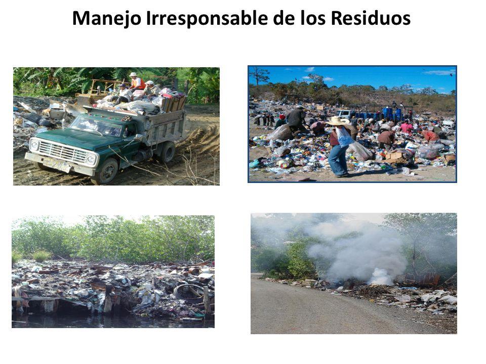 Manejo Irresponsable de los Residuos
