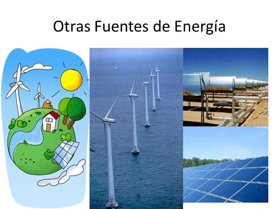 Otras Fuentes de Energía