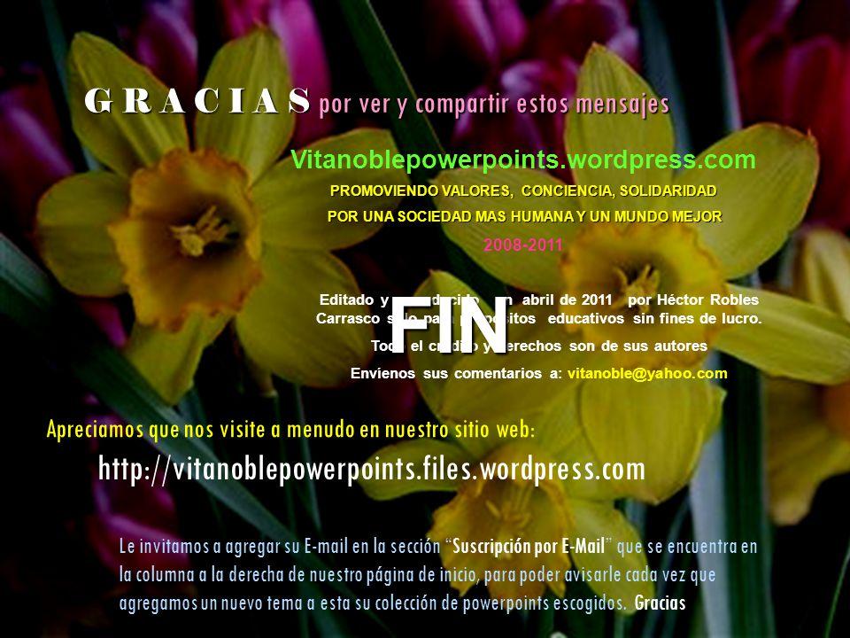 FIN http://vitanoblepowerpoints.files.wordpress.com