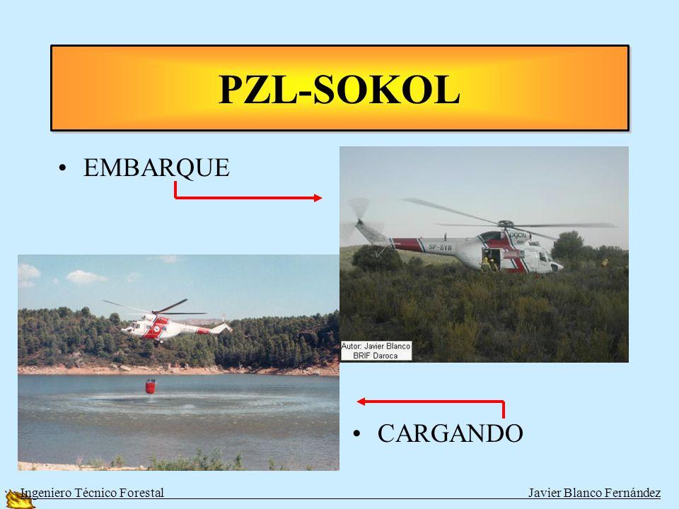 PZL-SOKOL EMBARQUE CARGANDO