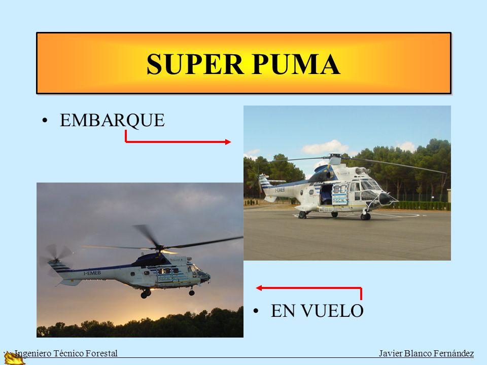 SUPER PUMA EMBARQUE EN VUELO