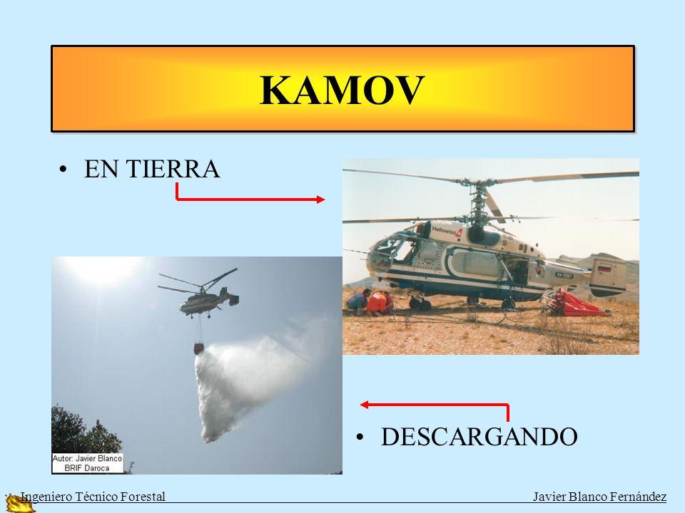 KAMOV EN TIERRA DESCARGANDO