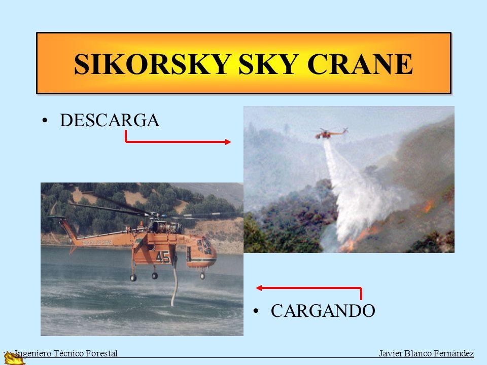 SIKORSKY SKY CRANE DESCARGA CARGANDO