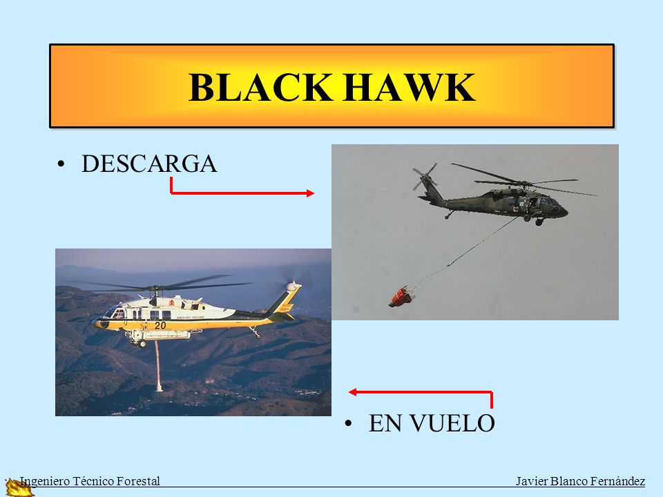 BLACK HAWK DESCARGA EN VUELO