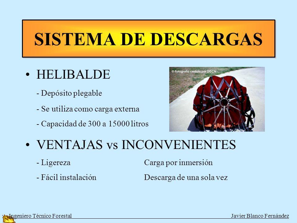 SISTEMA DE DESCARGAS HELIBALDE VENTAJAS vs INCONVENIENTES