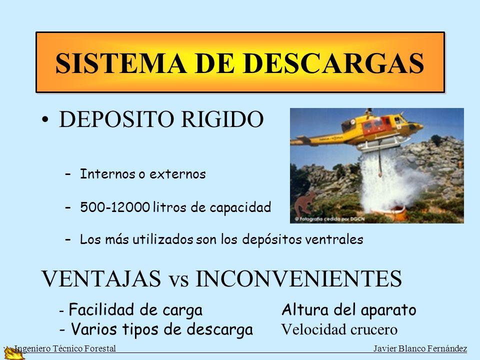 SISTEMA DE DESCARGAS DEPOSITO RIGIDO VENTAJAS vs INCONVENIENTES