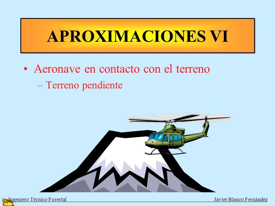 APROXIMACIONES VI Aeronave en contacto con el terreno