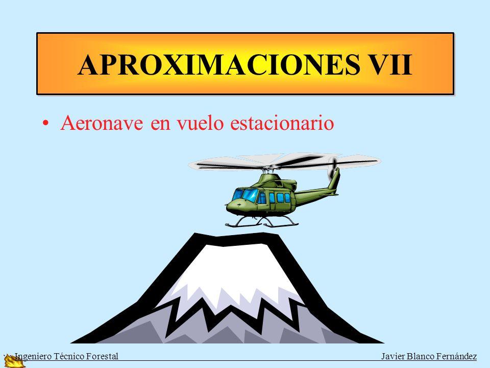 APROXIMACIONES VII Aeronave en vuelo estacionario