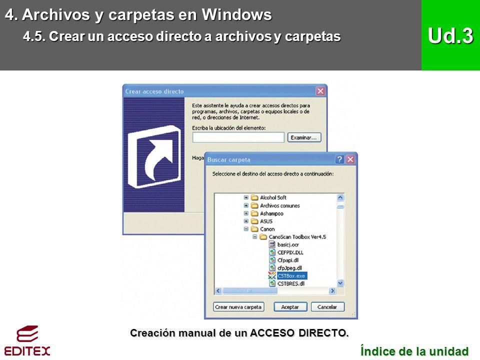 Ud.3 4. Archivos y carpetas en Windows