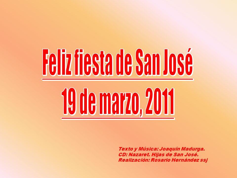 Feliz fiesta de San José