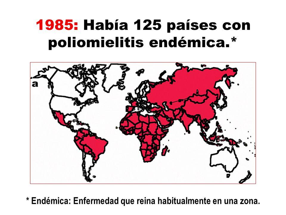 * Endémica: Enfermedad que reina habitualmente en una zona.