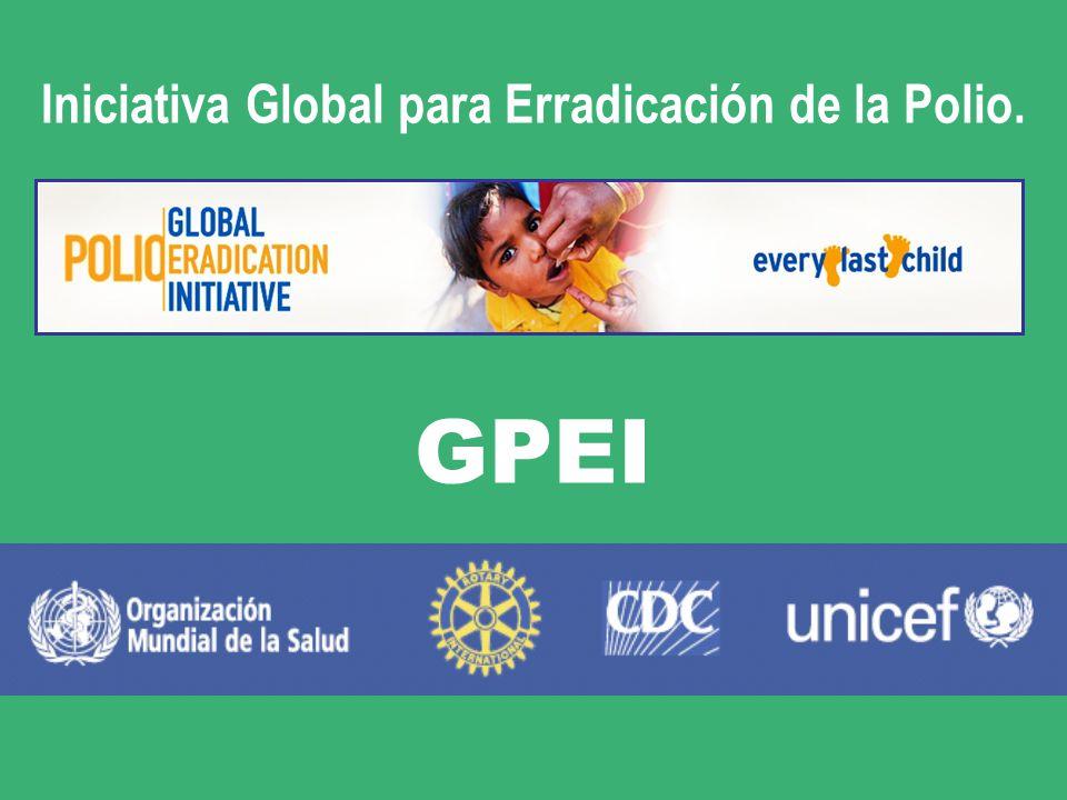 Iniciativa Global para Erradicación de la Polio.