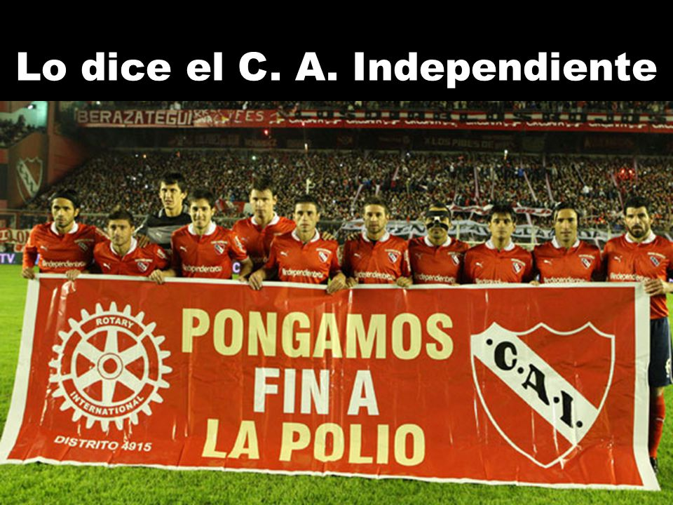 Lo dice el C. A. Independiente