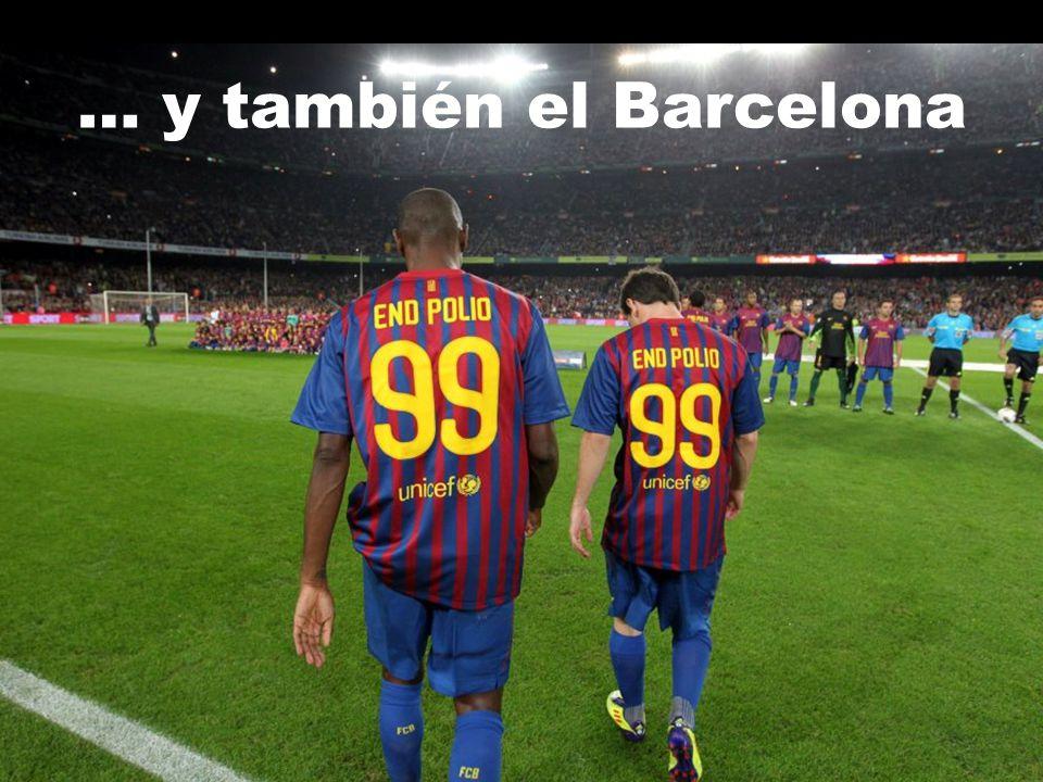… y también el Barcelona