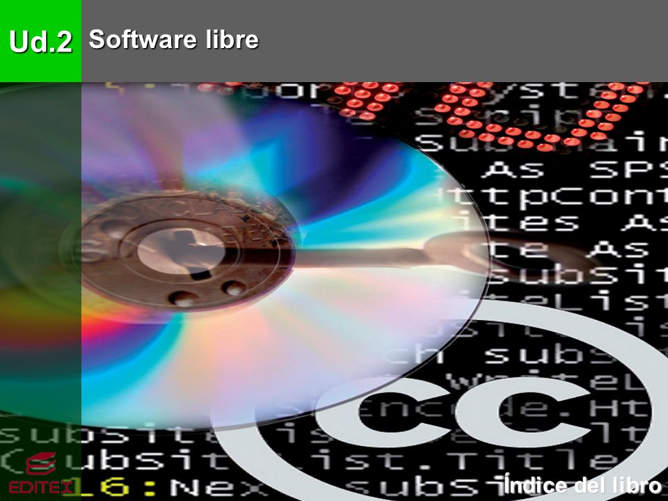 Ud.2 Software libre Índice del libro