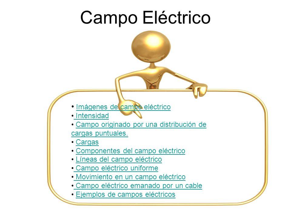 Campo Eléctrico Imágenes de campo eléctrico Intensidad