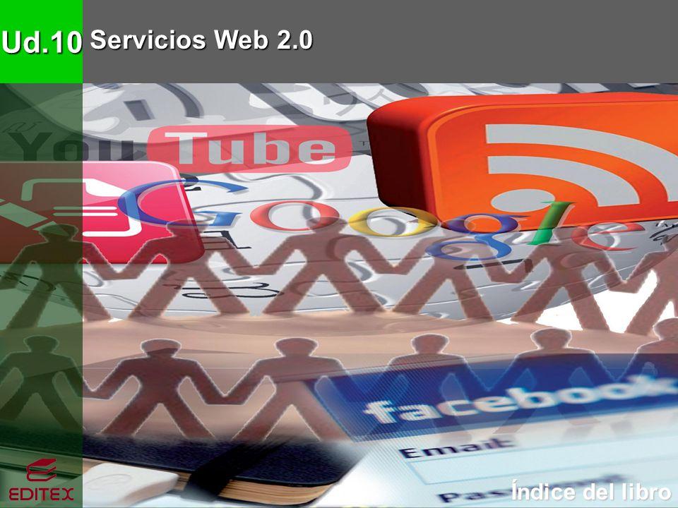 Ud.10 Servicios Web 2.0 Índice del libro