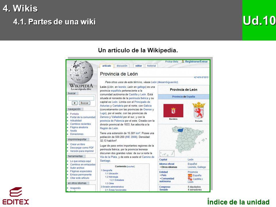 Un artículo de la Wikipedia.