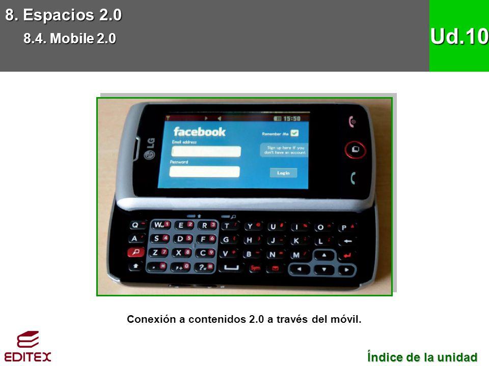Conexión a contenidos 2.0 a través del móvil.