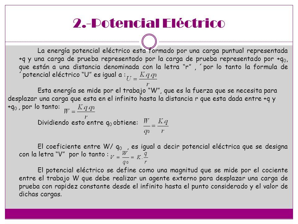 2.-Potencial Eléctrico