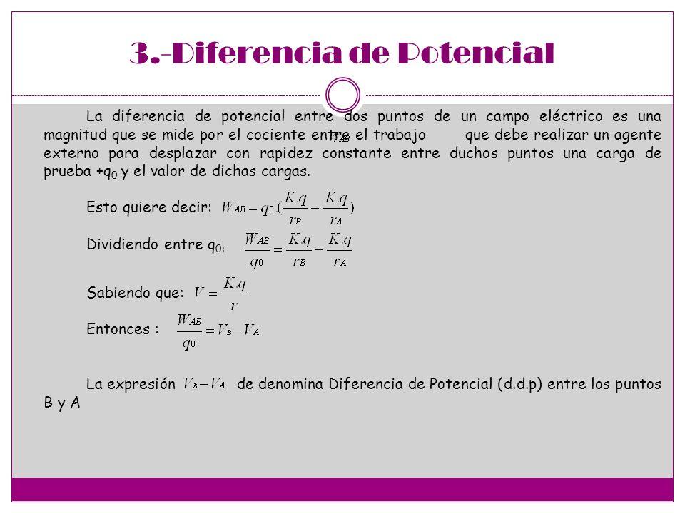 3.-Diferencia de Potencial